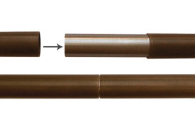CLASSIC_Single Diameter Rod System_Ant. Brass