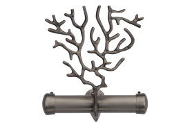 UTSAV_Coral_Decorative Bracket_Ant. Nickel