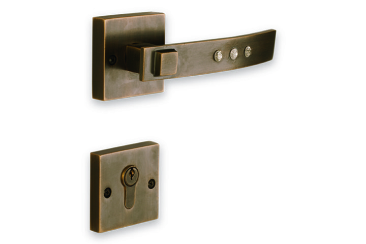 ACCESS_Glitter_Mortise Handle_Ant. Brass