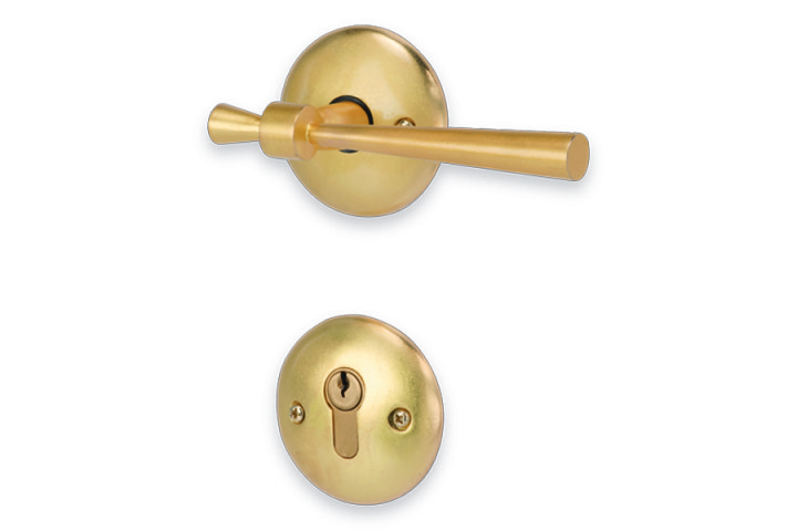 ACCESS_Spindle_Mortise Handle_Matt Gold